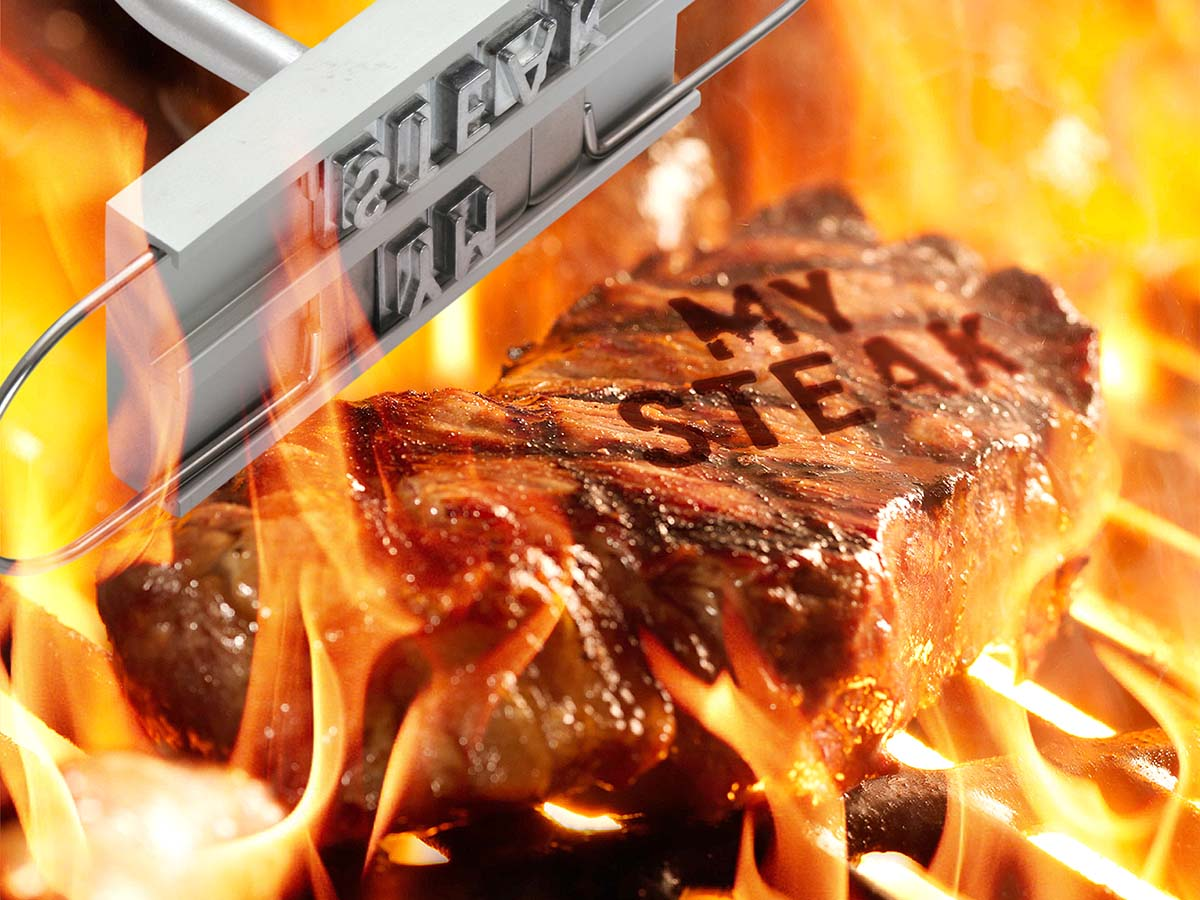 Image of BBQ Branding Iron