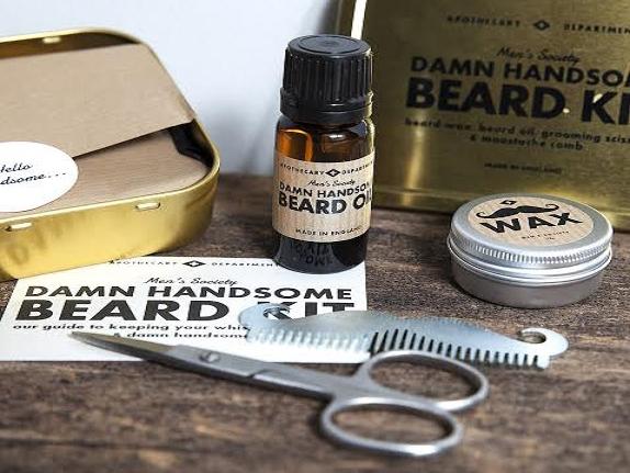 Image of Beard Kit 'Damn Handsome'