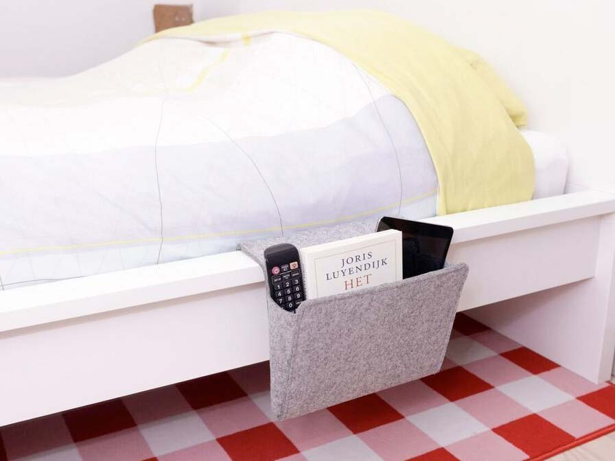 Bedside Pocket Bed Caddy Pocket