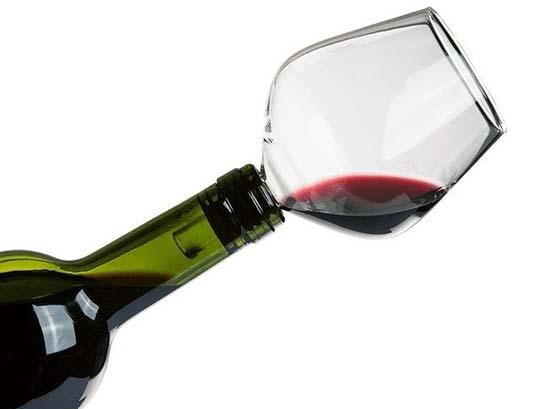 Wijnglas Flessenstop