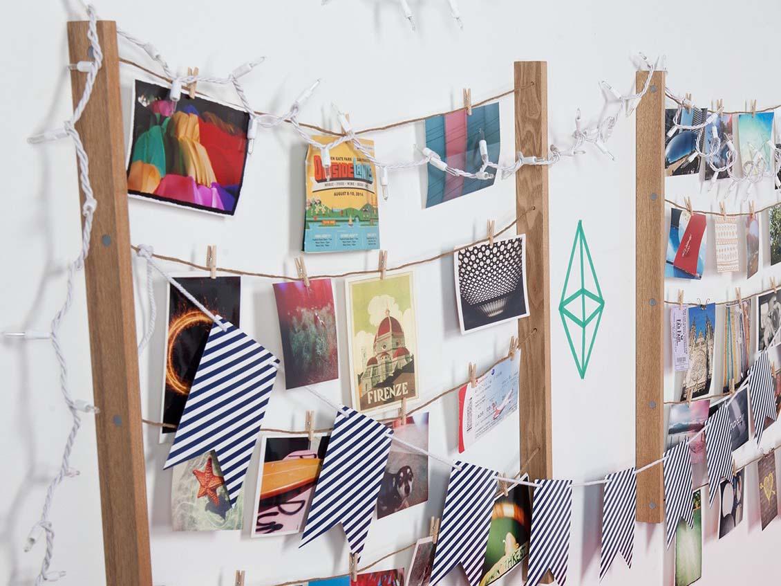 Hangit Multibilderrahmen | Bilderleine Hangit Photodisplay