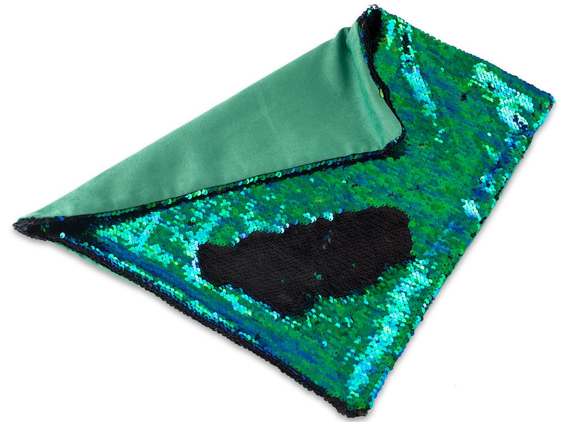 glitzernder pailletten kissenbezug mermaid pillow kissen. Black Bedroom Furniture Sets. Home Design Ideas