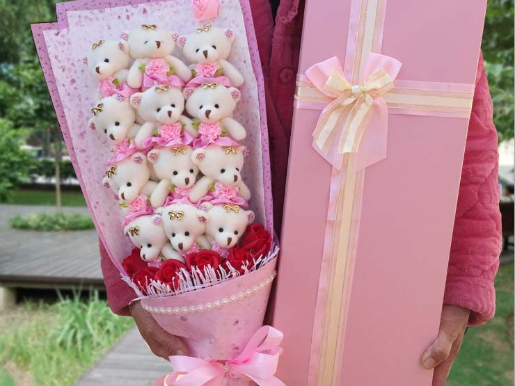 Teddy Bouquet