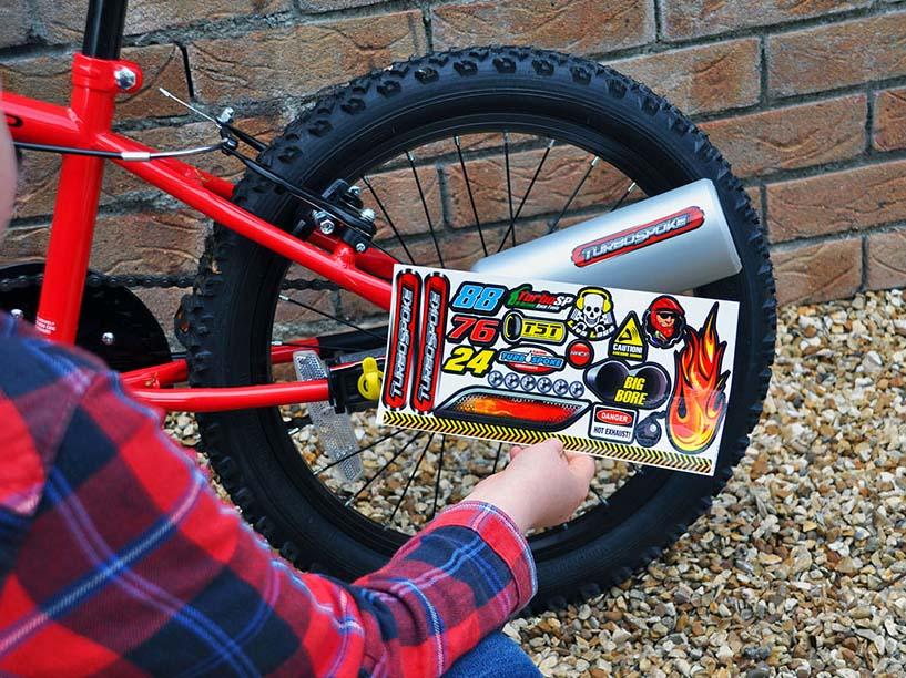 speelgoed uitlaat fiets