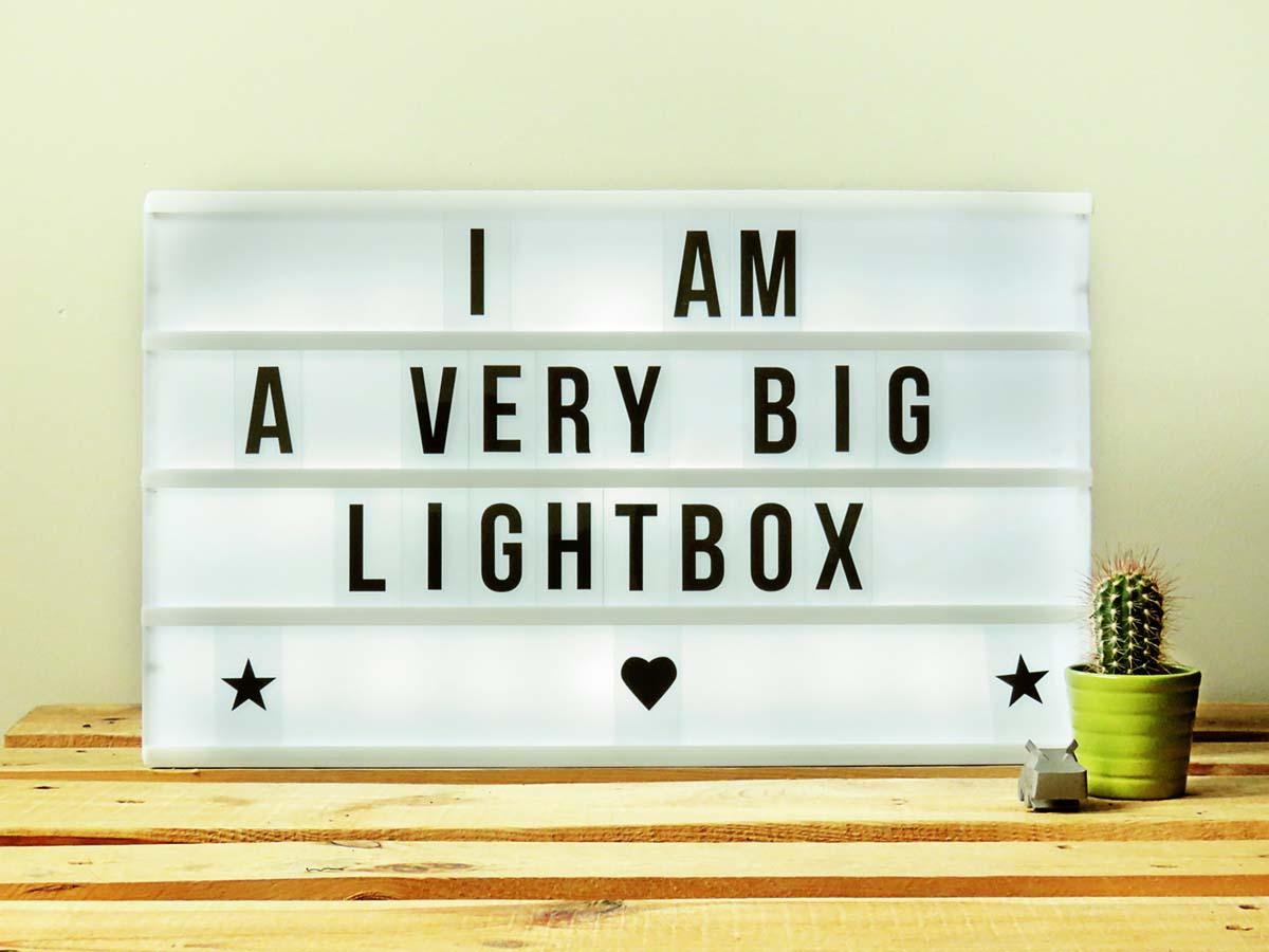 Van CoolGift USB Lightbox XL Prijsvergelijk nu!