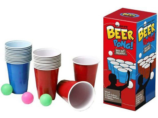 beer pong. Black Bedroom Furniture Sets. Home Design Ideas
