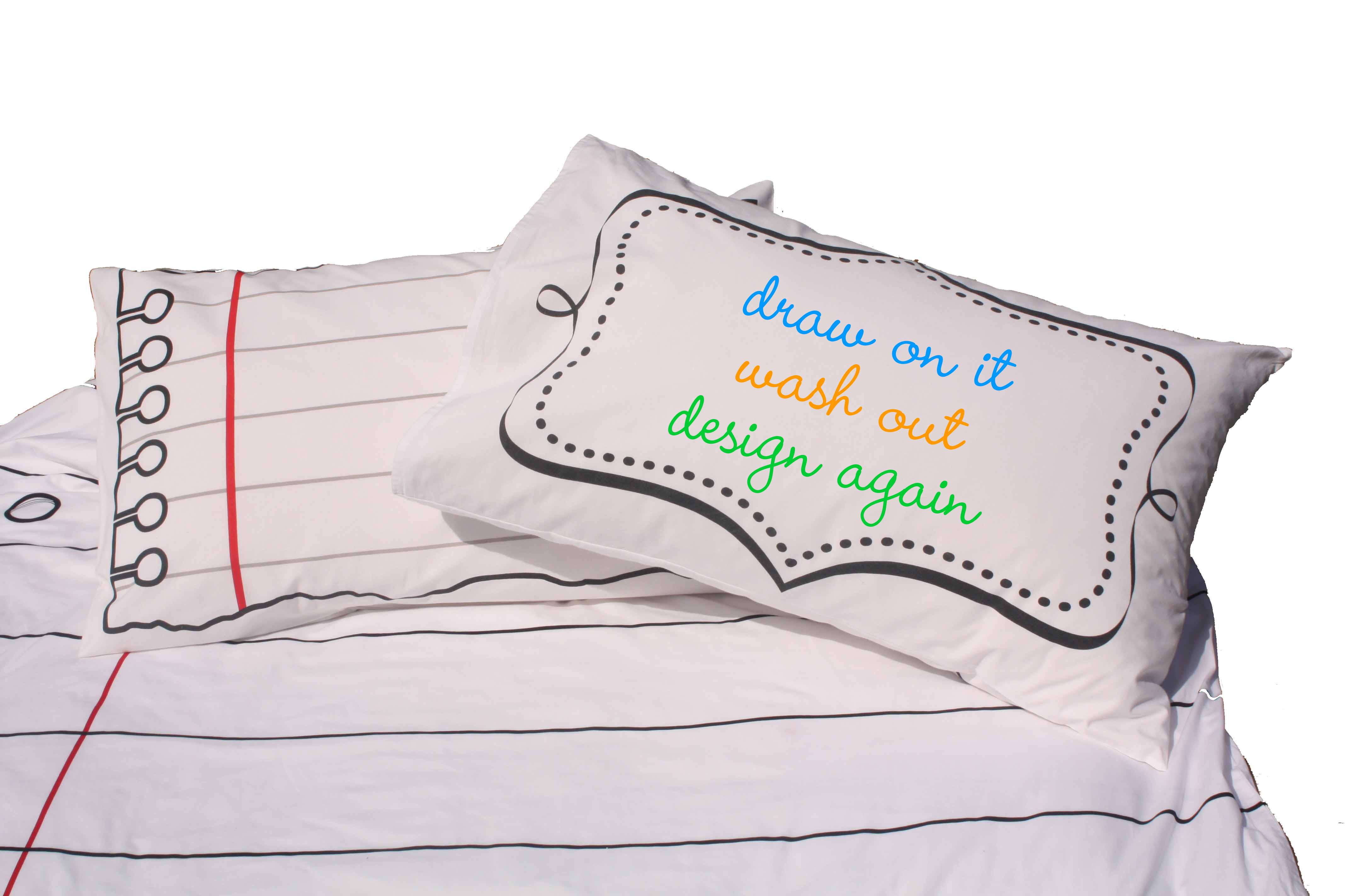 Design Your Own Pillowcase: DIY Pillowcase   Doodle Pillowcase,