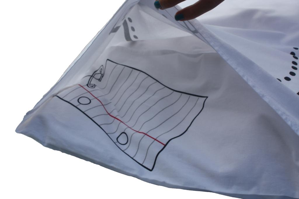 Diy kussensloop doodle pillowcase kopen