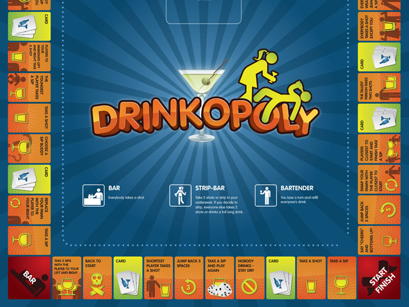 The Drinking Game Board Game