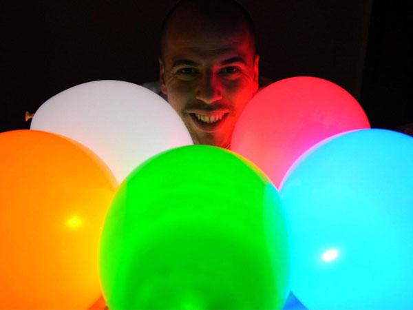 Ballonnen Met Licht : Led ballon 15 stuks led light up balloons kopen