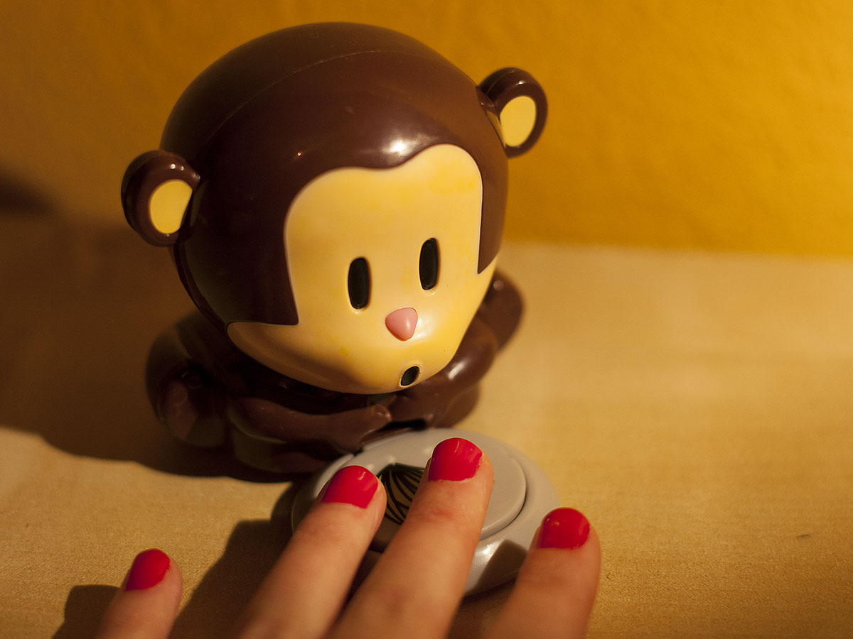 Nagellacktrockner blow monkey