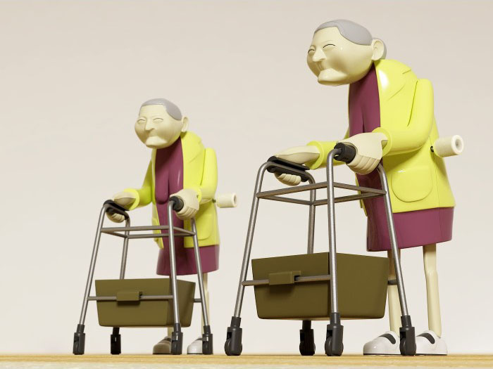 Racing Grannies (Set van 2)