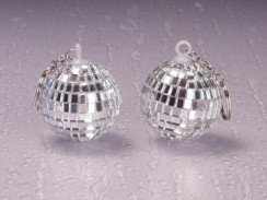 Disco Ball Keychain 6x