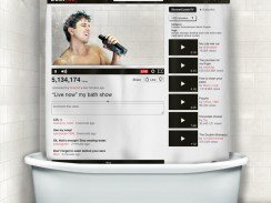 YouTube Shower Curtain
