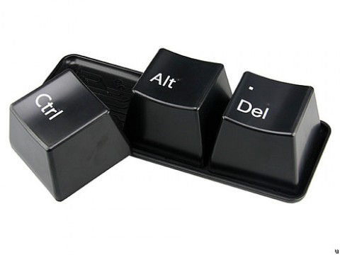 Ctrl Alt Delete Cup Set Keyboard Cups Mug Set Kopen