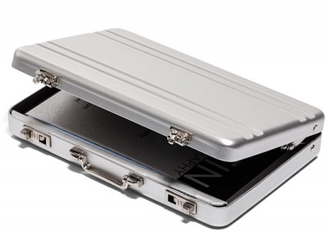 Mini Briefcase Business Card Case