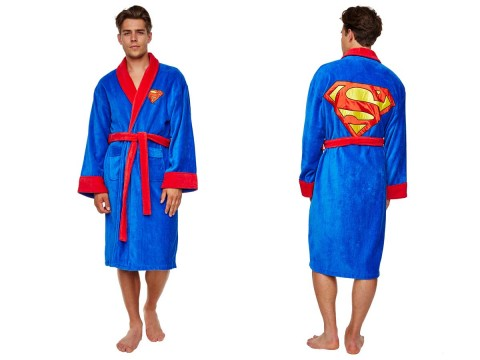 Superman Badjas Fleece