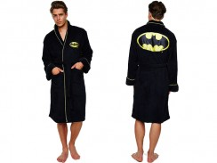 Batman Fleece Bademantel
