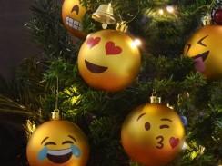 Emoji Christmas Balls