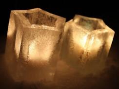 Lanterne de Glace Forme d'Etoile