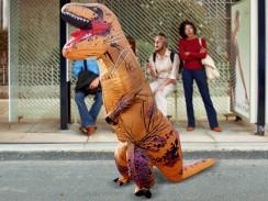 Kostüm Aufblasbarer T-Rex