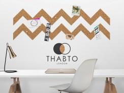 Pinnwand Roll & Pin von Thabto