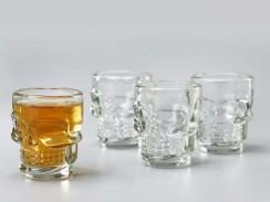 Totenkopf Schnapsglas (4)