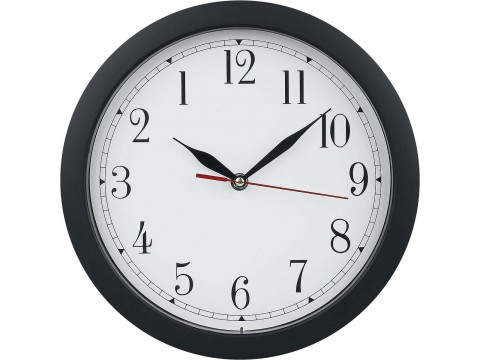 Backwards clock - Horloge inversée