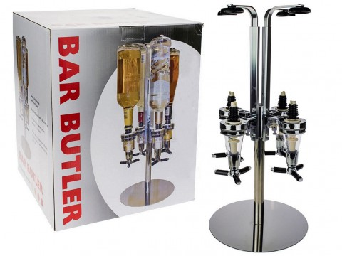 LED Bar Butler 4 Flaschen