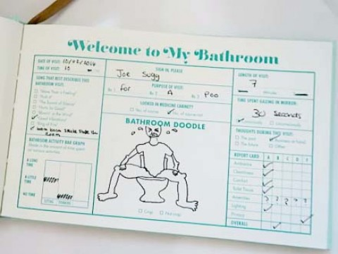 Impressive 40 bathroom guest book design decoration of for Z gallerie bathroom guest book