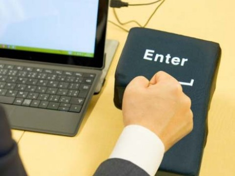 Anti Stress USB Enter Key