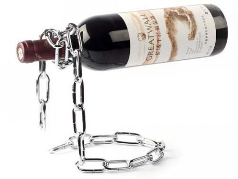 Chain Wine Bottle Holder