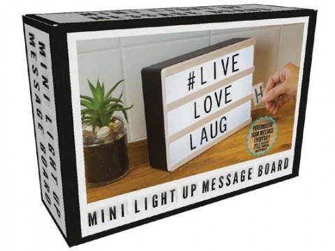 Panneau A Messages Lightbox A5