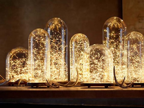 Koperen Lichtjesketting