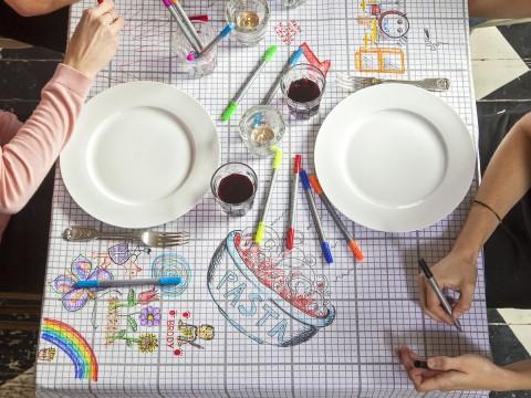 DIY Tablecloth