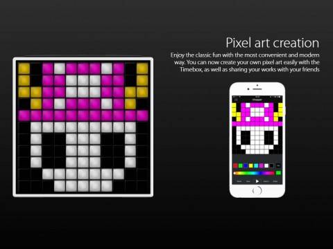 Bluetooth LED Pixel Art