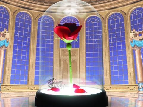Lampe Rose Enchantée