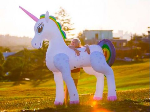 Giant Inflatable Unicorn