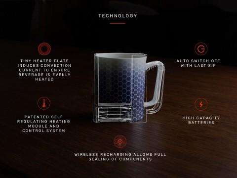 Glowstone Smart Mug