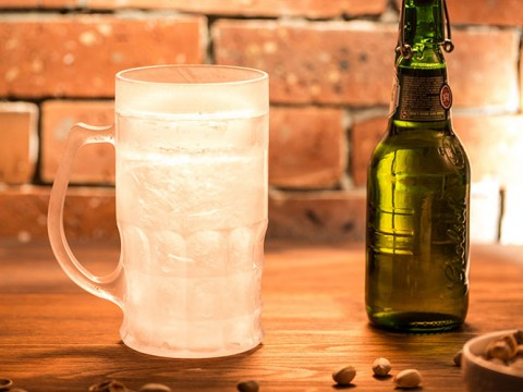 Frozen Beer Glass