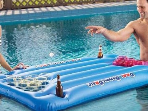 Beer Pong Air Mattress