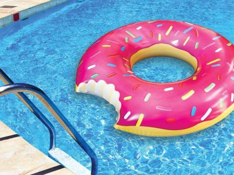 Opblaasbare Donut 122cm