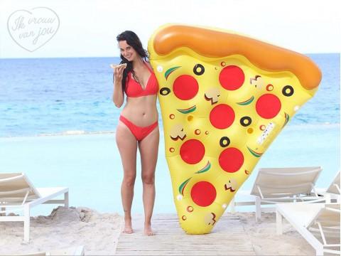 Schwimminsel Pizza