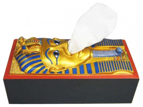 King Tut Tissue Holder