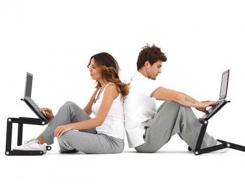 Ergonomic Laptop Table