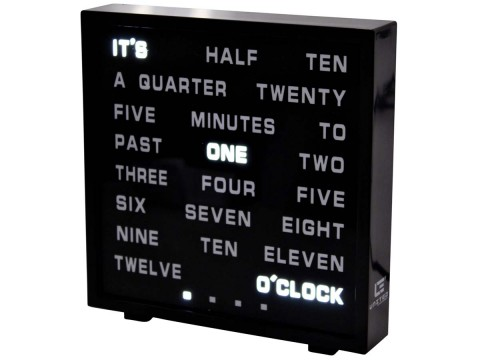 Wortuhr LED Word Clock