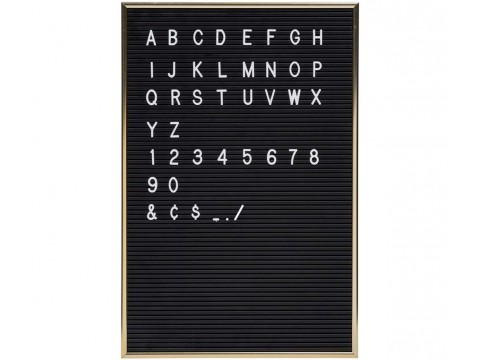 Vintage Letterbord