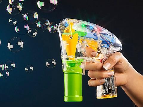 LED Seifenblasenpistole
