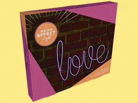 Lampe Love (Effet Néon)
