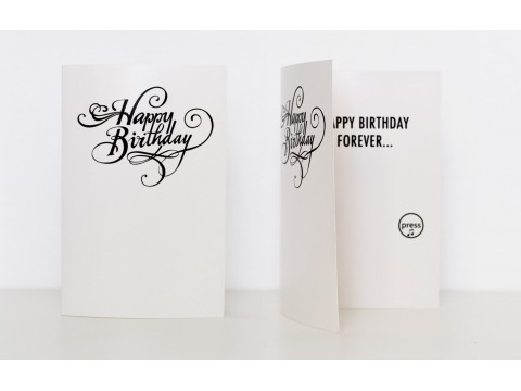 Never-Ending Birthday Card